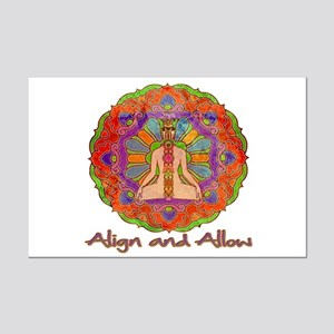 Align and Allow Mini Poster Print