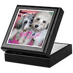 Lowchen Puppy Love - Keepsake Box