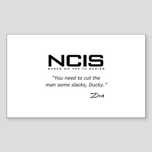 NCIS Ziva David Slacks Quote Sticker (Rectangle)