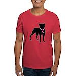 Boston Terrier Breast Cancer Support Dark T-Shirt