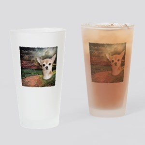 """""""Why God Made Dogs"""" Chihuahua Drinking Glass"""