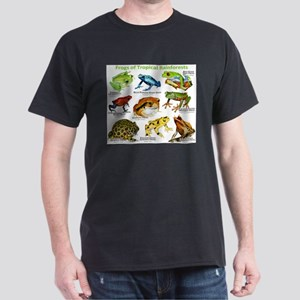 Frogs of the Tropical Rainforests Dark T-Shirt