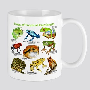 Frogs of the Tropical Rainforests Mug