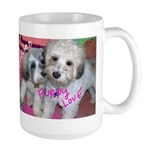 Lowchen Puppy Love - Large Mug