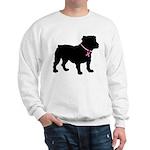 Bulldog Breast Cancer Support Sweatshirt