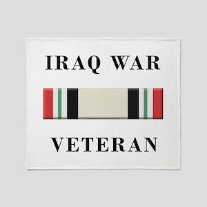 Iraq War Veterans Throw Blanket