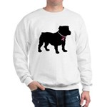 Bulldog Breast Cancer Support Sweatshirt