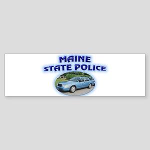 Maine State Police Sticker (Bumper)