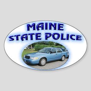 Maine State Police Sticker (Oval)