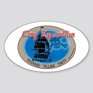 Camp Rapscallion Oval Sticker