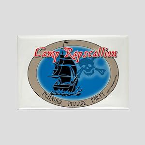 Camp Rapscallion Rectangle Magnet