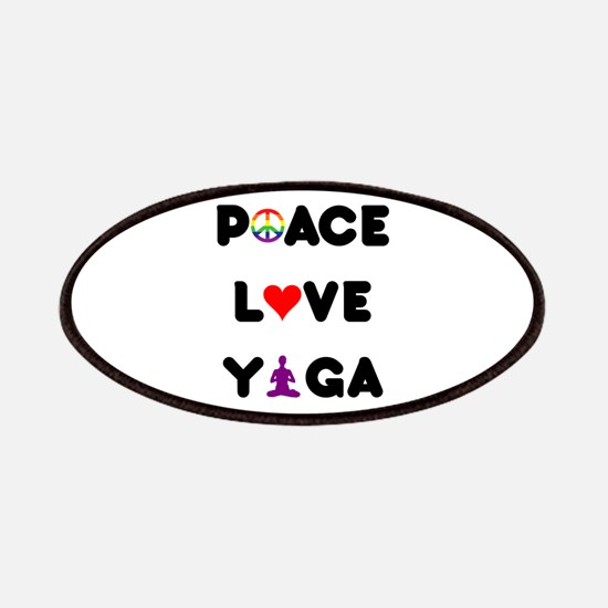 Peace Love Yoga Patches