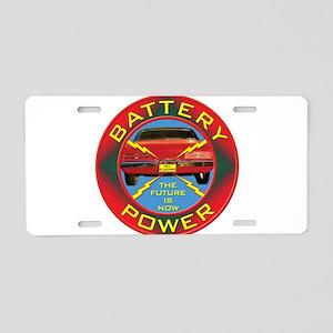 Battery Power Aluminum License Plate