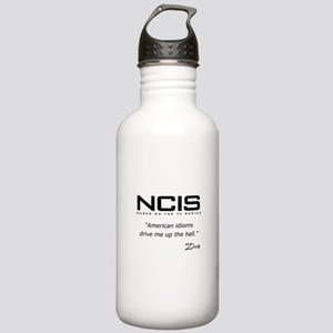 NCIS Ziva David Idioms Quote Stainless Water Bottl