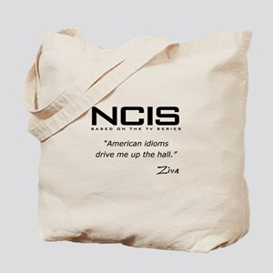 NCIS Ziva David Idioms Quote Tote Bag