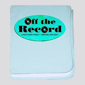 Off the Record baby blanket