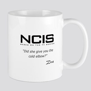 NCIS Ziva David Cold Elbow Quote Mug