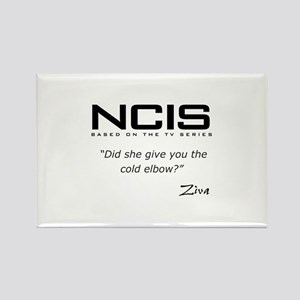 NCIS Ziva David Cold Elbow Quote Rectangle Magnet