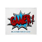 Gamer! Throw Blanket