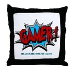 Gamer! Throw Pillow