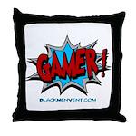 Gamer! Throw Pillow