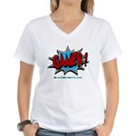 Gamer! Women's V-Neck T-Shirt