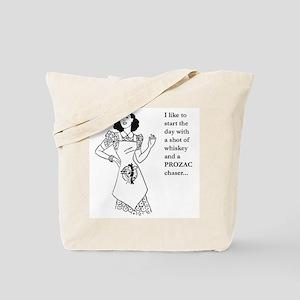 Start My Day Tote Bag