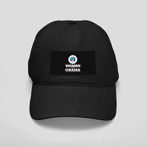 Women for Obama Black Cap