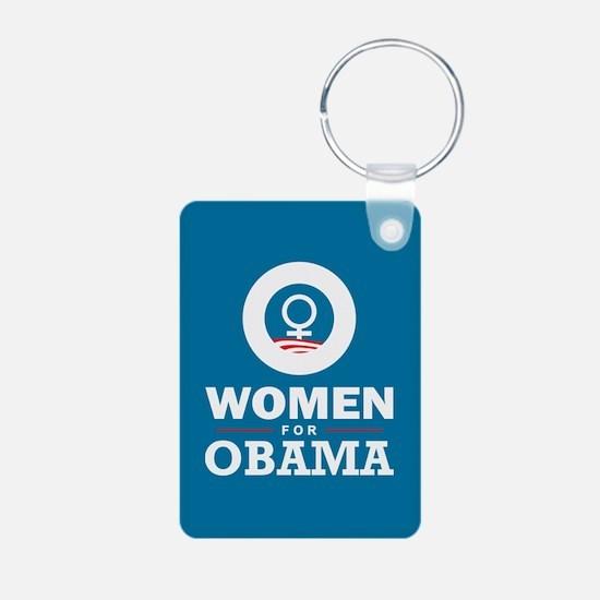 Women for Obama Keychains