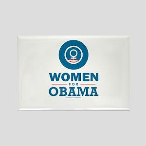 Women for Obama Rectangle Magnet