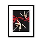 Trendy Floral Decor Framed Panel Print