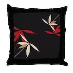 Trendy Floral Decor Throw Pillow