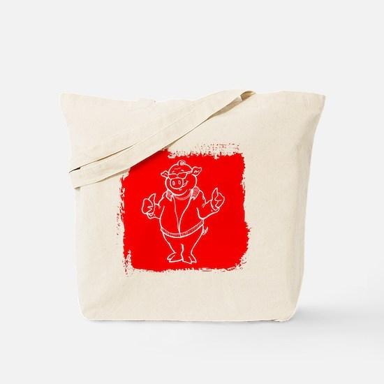 Cool Cartoon Pig Tote Bag