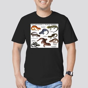 Salamanders of North America Men's Fitted T-Shirt