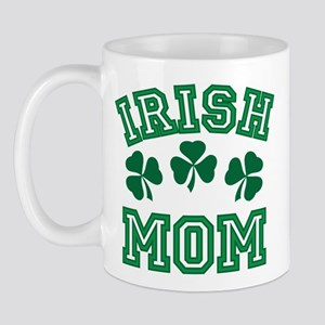Irish Mom St Paddy's Clover Mug