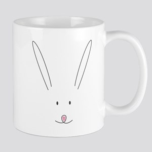 Cute Bunny Face Mug