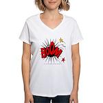 Boom! 2 Women's V-Neck T-Shirt