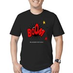 Boom! 2 Men's Fitted T-Shirt (dark)