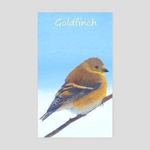 Goldfinch Sticker (Rectangle)