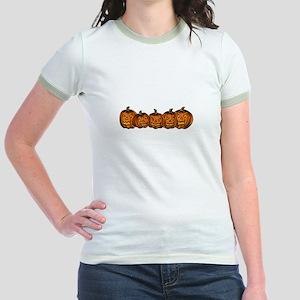 Jack-O-Lanterns Jr. Ringer T-Shirt
