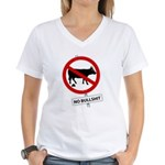 No BS Women's V-Neck T-Shirt