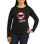 No BS Women's Long Sleeve Dark T-Shirt