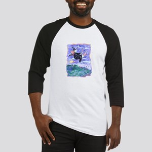 Witch Watercolor Baseball Jersey