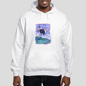 Witch Watercolor Hooded Sweatshirt