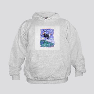 Witch Watercolor Kids Hoodie