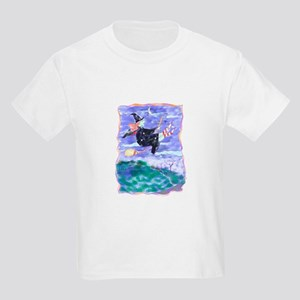 Witch Watercolor Kids T-Shirt