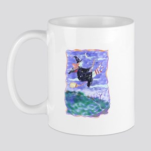 Witch Watercolor Mug