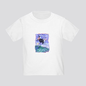Witch Watercolor Toddler T-Shirt