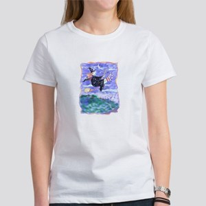 Witch Watercolor Women's T-Shirt
