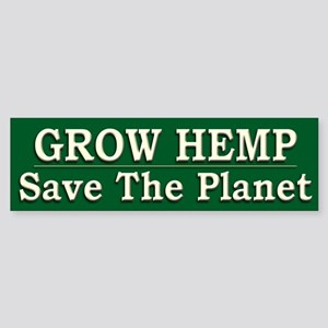 Legalize Hemp Farming Green - Sticker